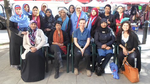 Group photo of the Community Health Champions